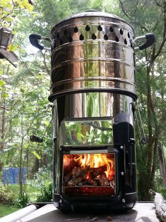 wood stove & Dragon pot