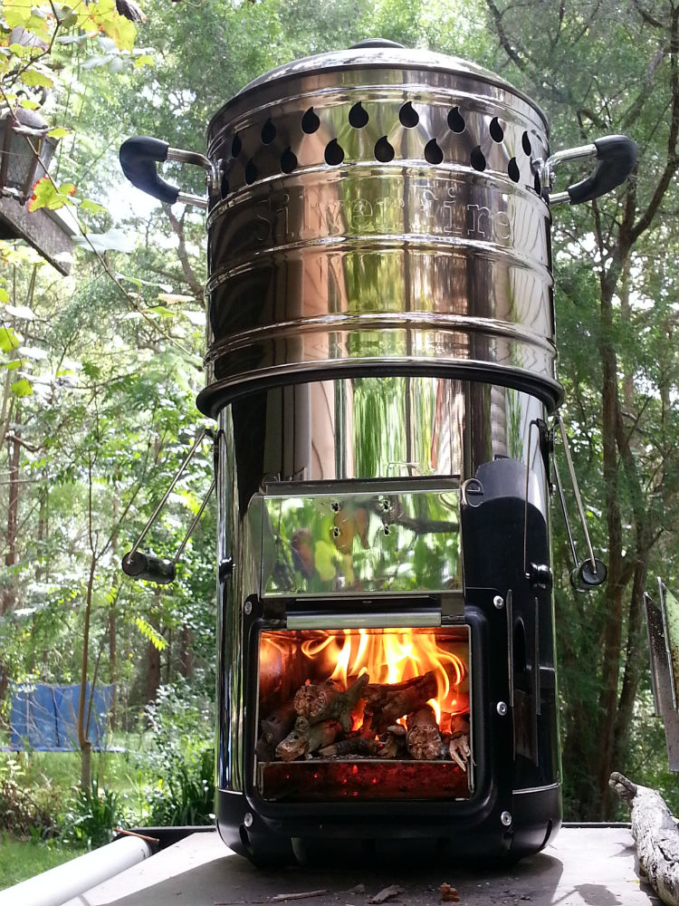 wood stove & Dragon pot