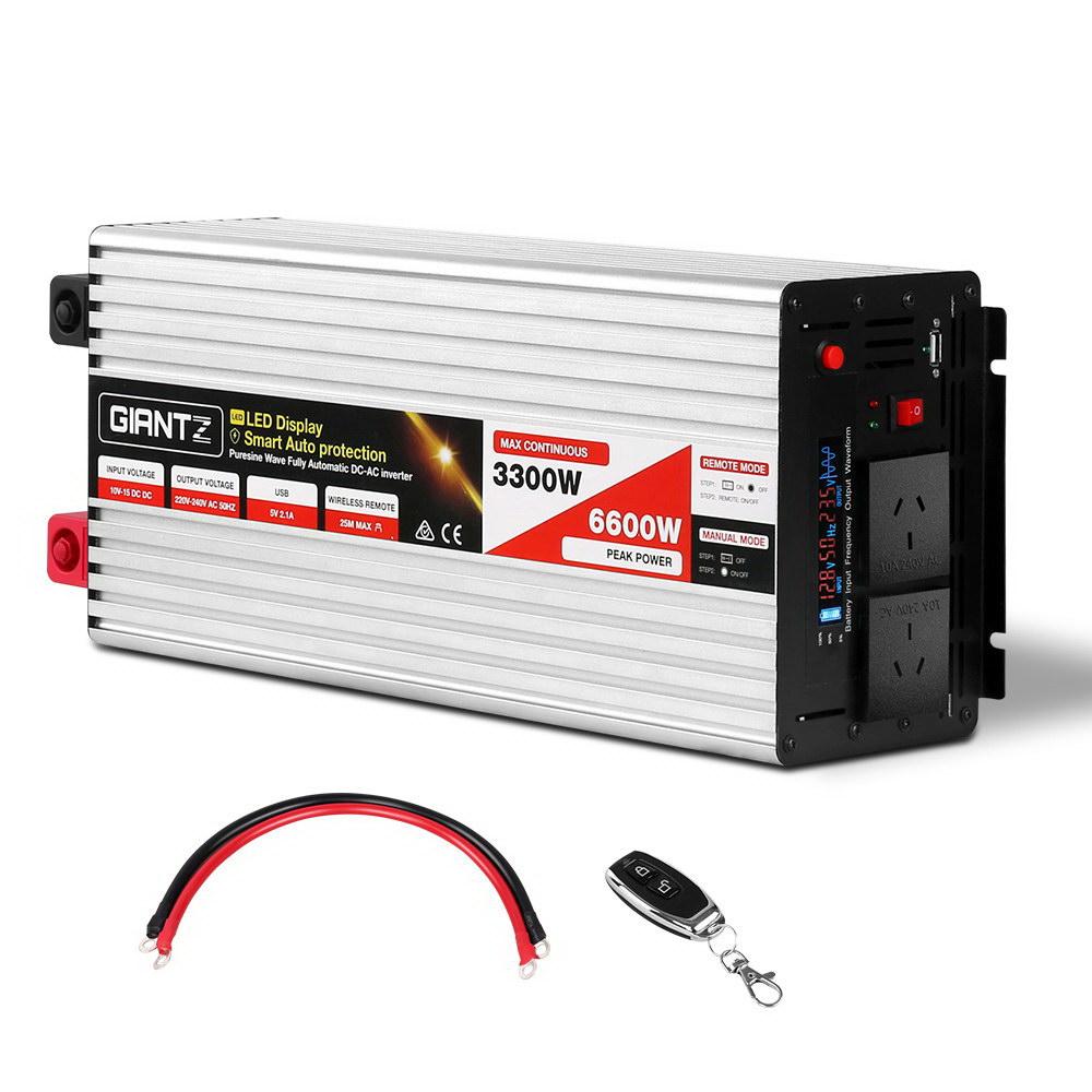 3300W Puresine Wave DC-AC Inverter