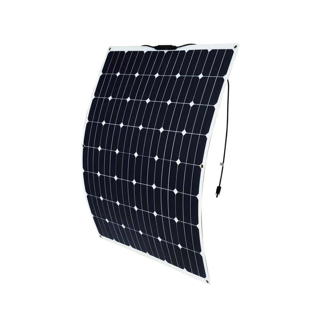 200W 12V Flexible Solar Panel Caravan Camping Boat  Mono Battery Charging